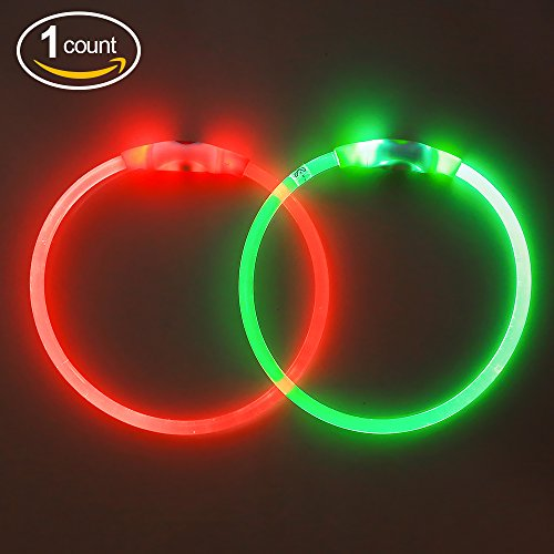 Bseen LED Dog Collar Resistant