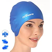 Swim Cap, Firesara Original Updated Swimming Cap 3D...
