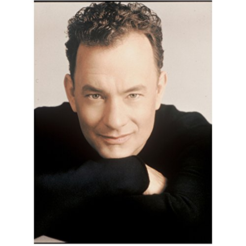 Tom Hanks Close Up Arms Resting Under Chin Light Skin Shot 8 x 10 Inch Photo