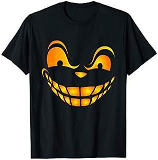 Jack-O-Lantern Pumpkin, Jackolantern Pumpkin Spooky Face T-shirt   Size S - 5XL