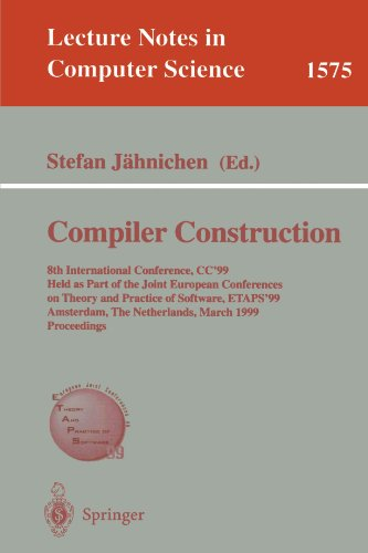 Compiler Construction: 8th International Conference, CC'99, Held as Part of the Joint European Conferences on Theory and
