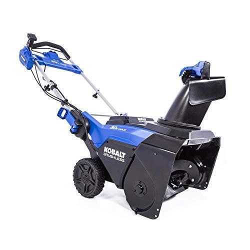 kobalt 80v snow blower review
