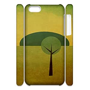 Iphone 5C Case, tree 46 3D Case for Iphone 5C White