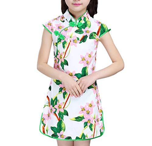 Baby Girls Dresses Chinese Traditional Style Cheongsam Costume Children Clothing,Style Eighteen,11]()