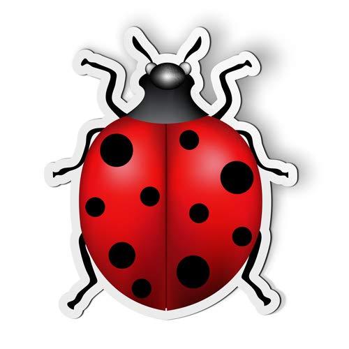 AK Wall Art Ladybug - Magnet - Car Fridge Locker - Select Size