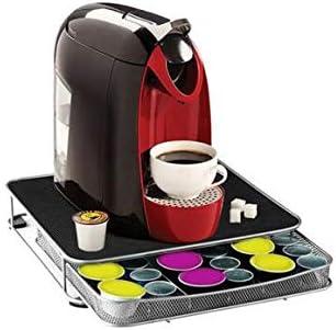 Soporte para cafetera y cajón para cápsulas Nespresso y Dolce ...