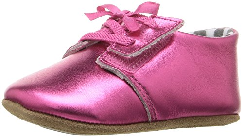 Image of Rosie Pope Kids Footwear Girls' Baby Tap Slip-On, Fuchsia, 3-6 Months W US Infant