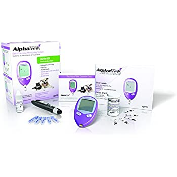 Amazon com: AlphaTRAK 2 Veterinary Blood Glucose Monitoring