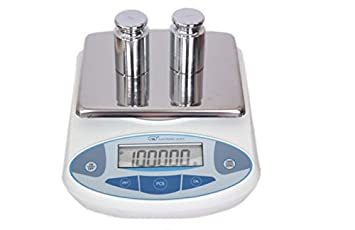 High Precision Analytical Balance Electronic Balance Lab Scale Balance Instrument for Gold//Jewelry Scale Weighing Scale 0.1g Pan Size 180x140mm MXBAOHENG HQ-1280 0.1g, 5kg