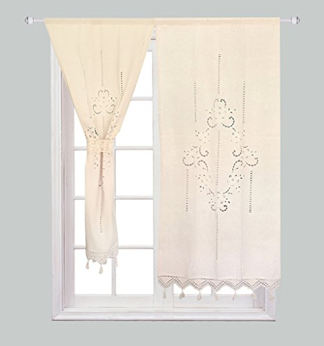 lace door curtain - 5