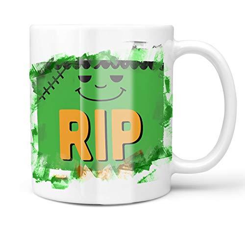 Neonblond 11oz Coffee Mug RIP Halloween Frankenstein with
