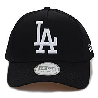 New Era Basic A-Frame LA Dodgers Adjustable Curved Peak Navy Baseball Hat  Cap 6af15e08a7b
