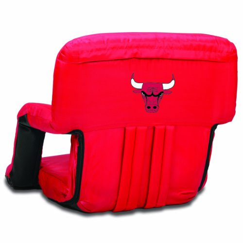 PICNIC TIME NBA Chicago Bulls Ventura Portable Reclining Seat by PICNIC TIME