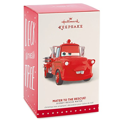 Amazon.com: Hallmark Keepsake Ornament: Disney/Pixar Cars Mater to ...