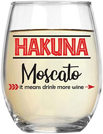 Hakuna Moscato Means Crystal Stemless product image