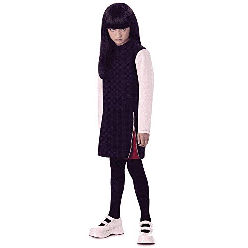 Emily The Strange Teen Halloween Costume (Size: Small 3-5) ()