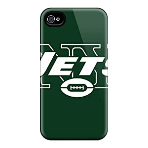 Protective Hard Cell-phone Cases For Iphone 6plus With Custom Beautiful New York Jets Pictures CristinaKlengenberg