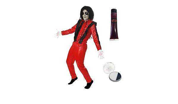 Disfraz de Michael Jackson en Thriller para niños