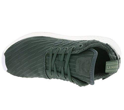 Adidas Unisex-erwachsene Nmd R2 W 261 Sneaker Mehrfarbig (utiivy / Calzature Bianche / Verde Transulente Ba7261)
