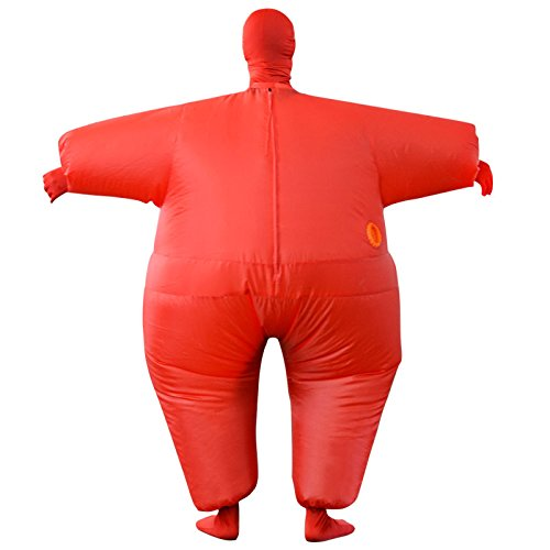 Inflatable Costume Full Bodycon chub Suit Cosplay Halloween Funny Fancy Dress Blow up Party Toy for Adult by EasyLiving (Image #5)