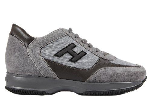 hogan scarpe uomo grigie