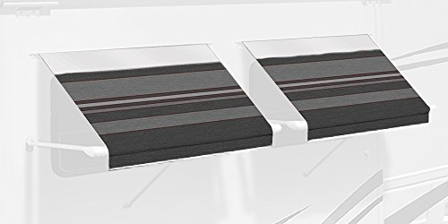 carefree-ie0307a00-sl-premium-charcoal-30-long-rv-camper-complete-window-awning-with-white-arms-char
