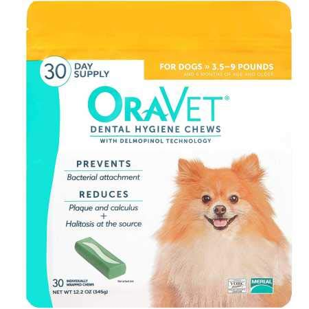 Frontline OraVetreg Dental Hygiene Chews XSmall UP to 10LBS 30 Count
