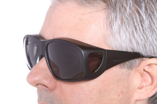 2999885c35 Lenscovers Sunglasses Wear Over Prescription Glasses. Polarized Size Medium