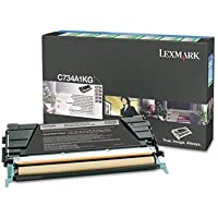 LEXC734A1KG LEXMARK BR C734N, 1-SD RTN PROGRAM BLACK