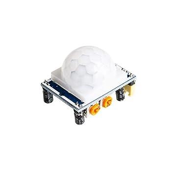 Nave del Mundo 100 unids HC-SR501 HC SR501 Ajuste infrarrojo IR PIR Sensor de