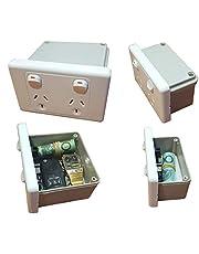 Power Point Stash Box Hidden Wall Safe Can Secret Diversion Powerpoint Outlet Australian Made, Regular Size or XL
