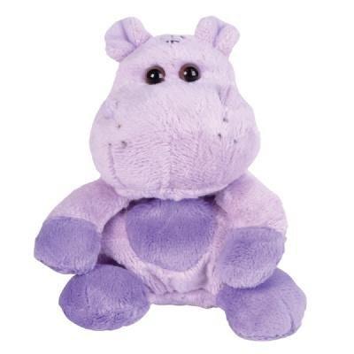Hippopotamus Hippo Bean Filled Plush Stuffed Animal - Purple Hippo