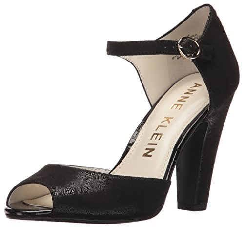 Klein Black Dress Pump Anne Women's Fabric Henrika TxdfF1