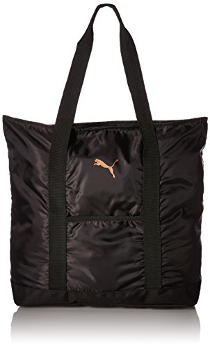 PUMA Women's Evercat Cambridge Tote, black/gold, OS from PUMA