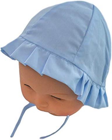 Bébé garçons bleu et blanc chapeau taille 6-12 mois NEUF