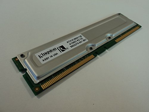 Kingston RAM Memory Module 128MB PC800 RDRAM 184-Pin RAMBUS KTH-XU800-128 -