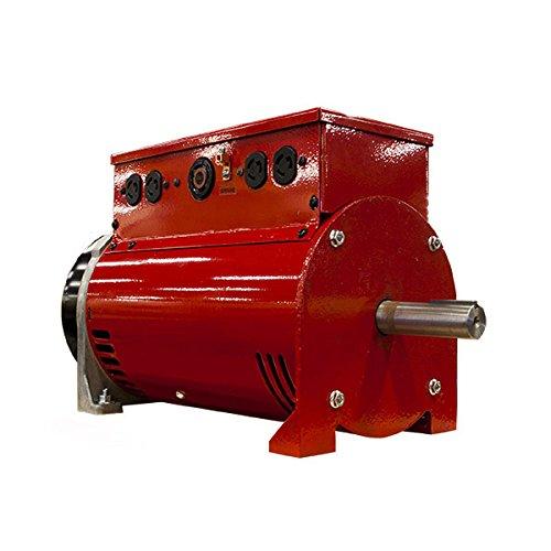 Winco TB7200GFI Two-Bearing Generators, 7200W Output, 154 lb. Reviews