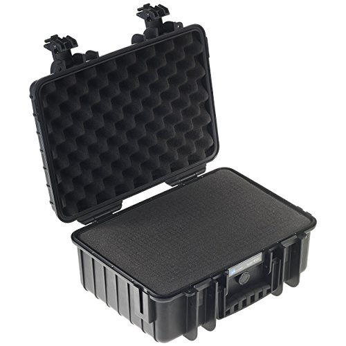 Type 4000 Outdoor Case with SI Foam, Black