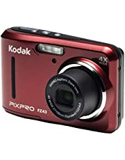 """Kodak PIXPRO Friendly Zoom FZ43-RD 16MP Digital Camera with 4X Optical Zoom and 2.7"""" LCD Screen (Red) photo"""