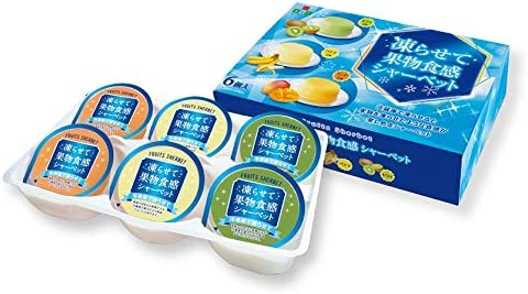 エースベーカリー 6個凍らせて果物食感シャーベット (65gX6個)