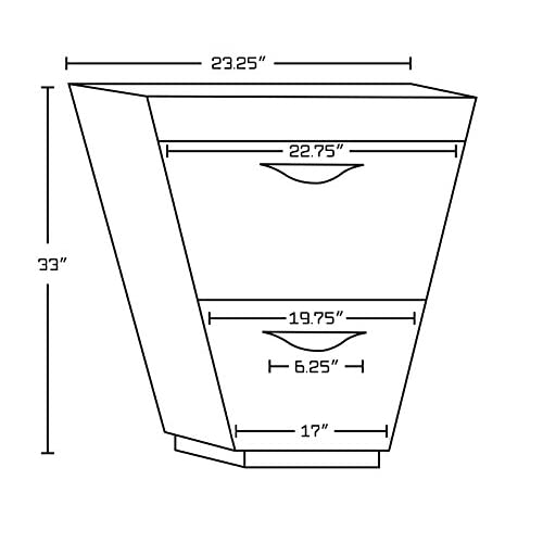 "free shipping Jade Bath JB-9247 43.5"" W x 18.5"" D Plywood-Melamine Vanity Set with 8"" o.c. CUPC Faucet, Wenge"