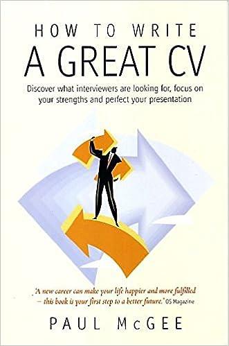 write a good cv