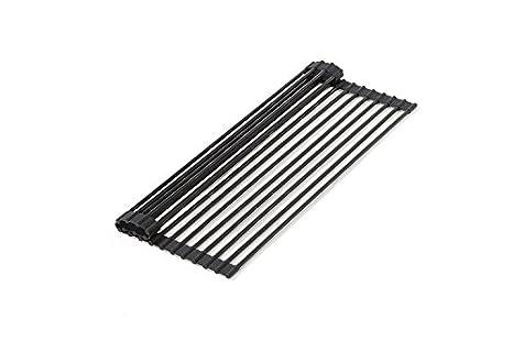 Amazon.com: Durante el fregadero Roll-up rack de secado ...