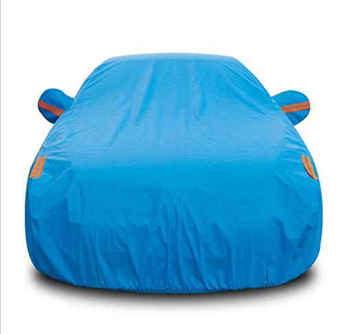 Outlander Motors Mitsubishi (HRFFCLH Car Cover, Rainproof, Sunscreen, dustproof, Suitable for Mitsubishi Motors: Langer, Galant, GRANDIS, Outlander, Pajero, Zinger, car Protection,Blue,Pajero)