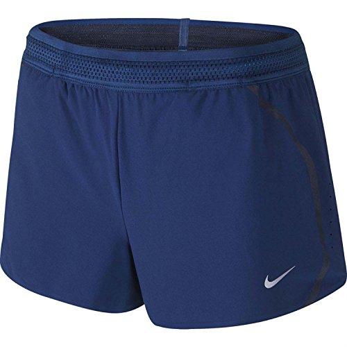 Nike Femmes Aeroswift 2 Shorts De Course Bleu / Noir