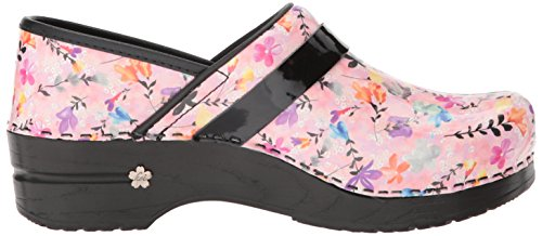 Sanita Womens Floret Clog Rose