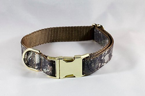 The Sporting Pup Camo and Khaki Seersucker Bow Tie Dog Collar