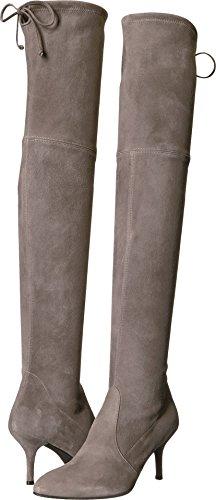 Stuart Weitzman Women's Tiemodel Over the Knee Boot, Topo, 7 Medium US by Stuart Weitzman