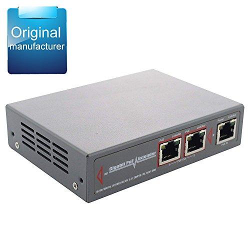 Centropower Gigabit 2 Port PoE extender/splitter (POE-EX2003-30W) (Gigabit 2 Port PoE extender/splitter (POE-EX2003-30W))