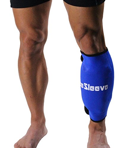 IceSleeve RS13B04 Calf Shin Straps Blue product image